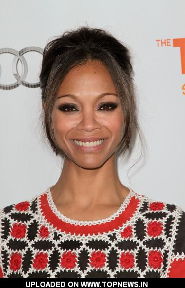 Zoe Saldana at The Trevor Project's 2011 Trevor Live! - Arrivals