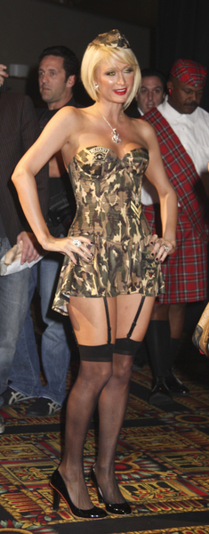 Paris Hilton Hosts 'A Very Sexy Halloween' at LAX Nightclub Las Vegas