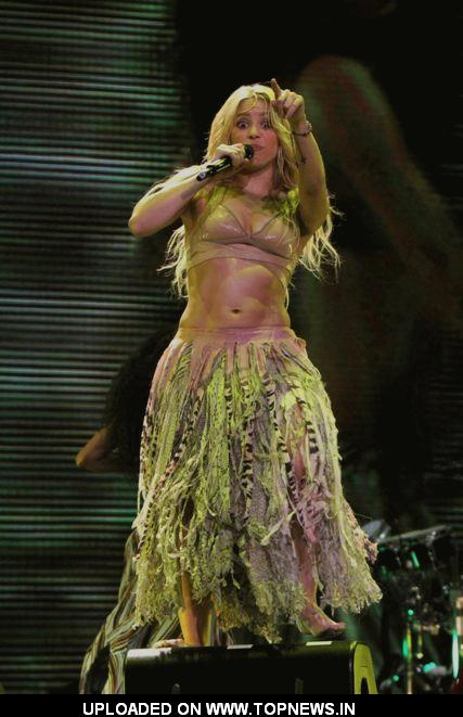 Shakira Live In Concert At Madison Square Garden Topnews