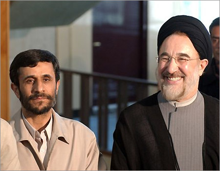 Khatami: Iran opposition must unite to replace Ahmadinejad