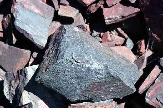 Steel Ministry for banning iron ore exports