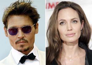 Angelina and depp sex scene