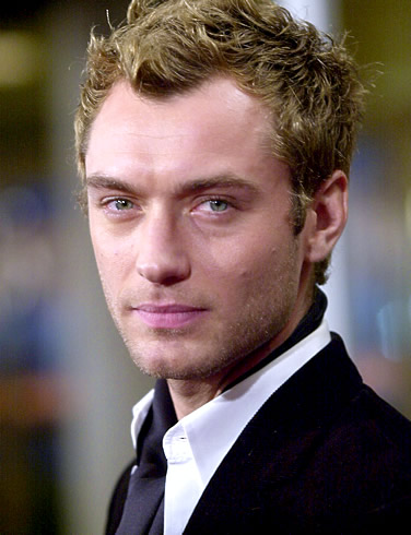 jude law hair. Jude Law#39;s drag film going