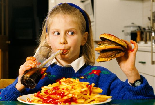 Obesity Linked To Eating Fast Food