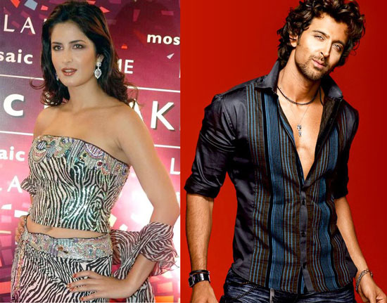 Hrithik Roshan-Katrina Kaif: Edges Past Others To The Top Of 'Most Desirable' List