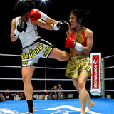 Kick boxing gains popularity among girls in Punjab