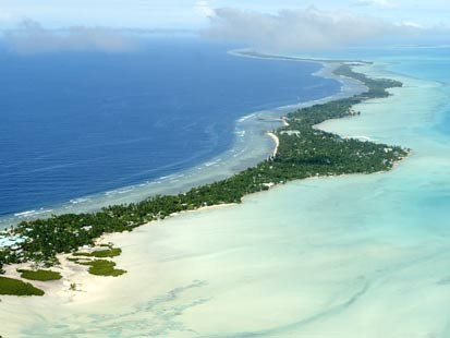 View of Kiribati