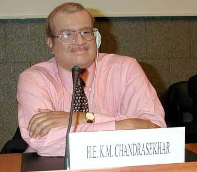 K M Chandrasekhar Topnews