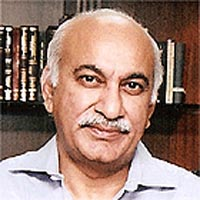 M.J. Akbar's book about Pakistan on top again
