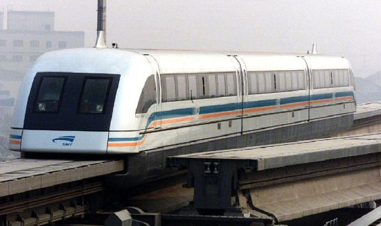 China indicates interest in buying maglev train technology