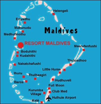India, Maldives