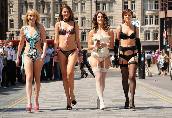 models parade Autistic and Seeking a Place in an Adult World