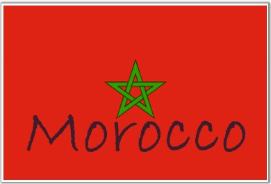 Africa international relations regional study for Flag of morocco coloring page