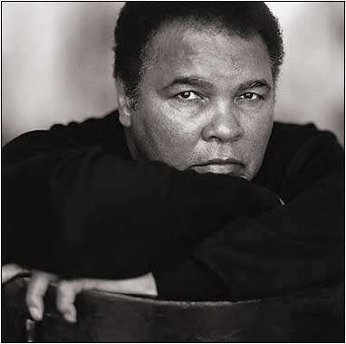 19 : Former World Heavyweight Boxing Champion Muhammad Ali