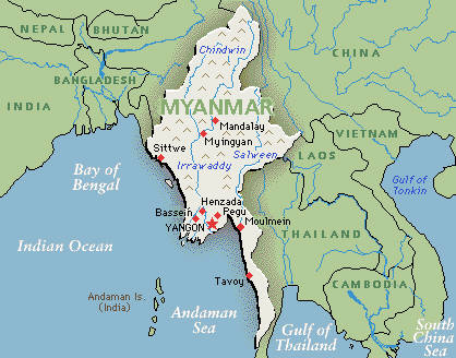 Myanmar fascinates with its play of light and shadow