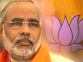 Gujarat Chief Minister and Bharatiya Janata Party (BJP) leader Narendra Modi