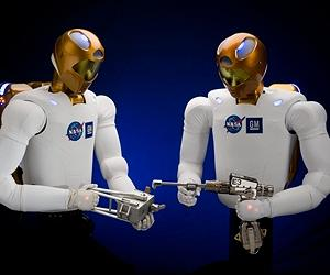 NASA's first humanoid robot 'turned on' in space