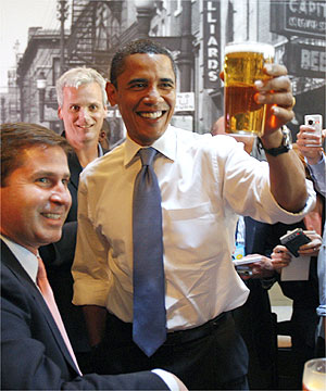 Beer fans happy to know Obama enjoys the drink