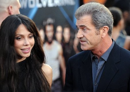 Mel Gibson, Russian girlfriend
