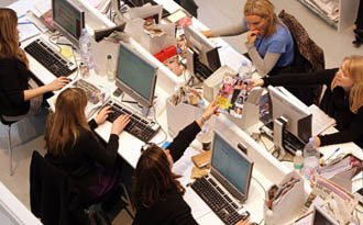 Open-plan offices are injurious to heath of employees