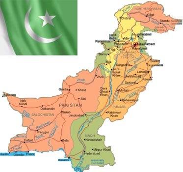 World Map Karachi