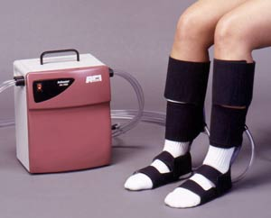 Pneumatic compression may help those suffering from restless legs syndrome