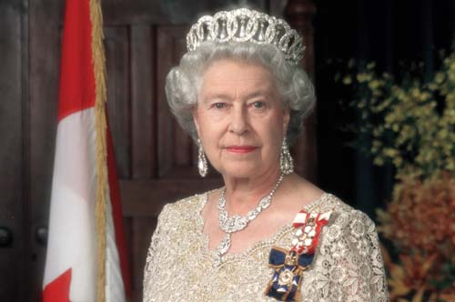 British Queen in swine flu scare