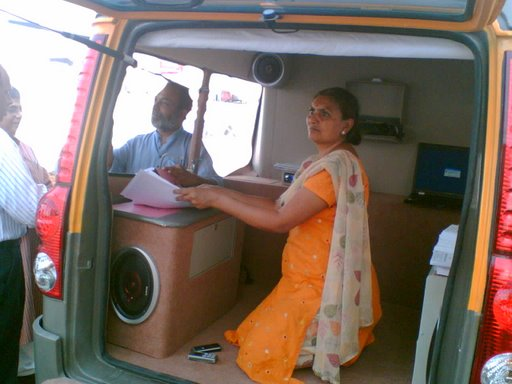 'RTI on Wheels' Completes One Year On March 17