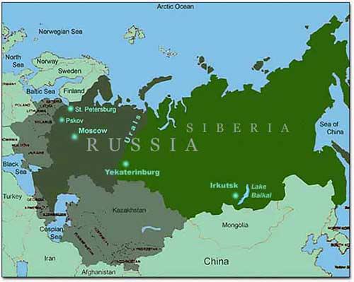 Dvina river ma  Dvina River Russia Map