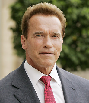 California Governor Arnold Schwarzenegger