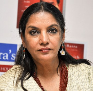 shabana azmi biography