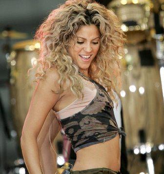 she naked Shakira wolf