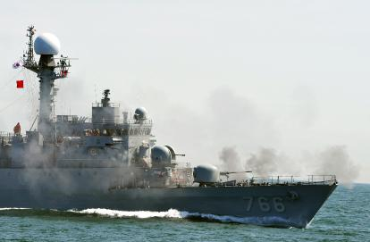 sinking-South-Korean-warship