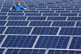 Solar power usage rising globally, survey
