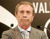 Vicente Soriano ex presidente del Valencia
