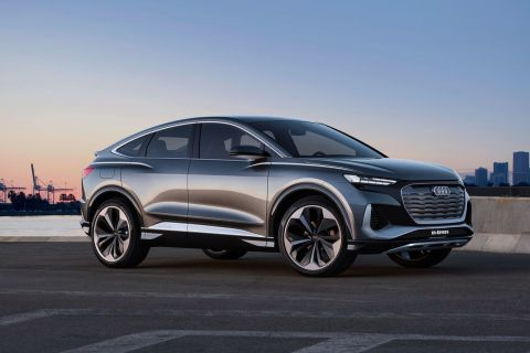Audi starts production of Q4 e-tron electric SUV at Zwickau factory