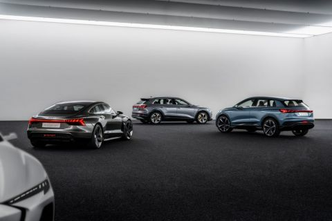 Audi releases teaser images of PPE-based electric 4-dour coupé
