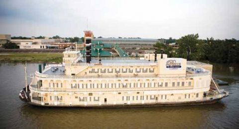 """Caesars sells """"Belle of Baton Rouge"""" riverboat casino to CQ Holding Company"""