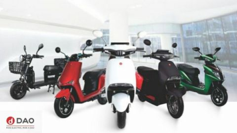 Chinese EV brand DAO launches DAO 703 e-scooter in India's fast-growing EV market