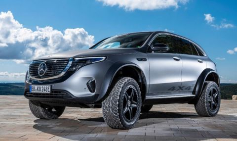 Mercedes-Benz unveils EQC electric SUV concept with impressive off-road hardware