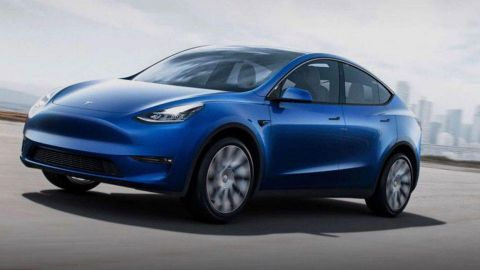 US: Black-colored Tesla Model Y spotted 'in the wild' near Palo Alto