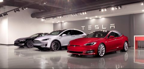"""Tesla files patent application for new """"compact"""" power assist steering system"""