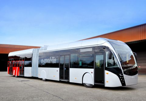 Van Hool announces world premiere of two e-buses at Busworld Europe in October