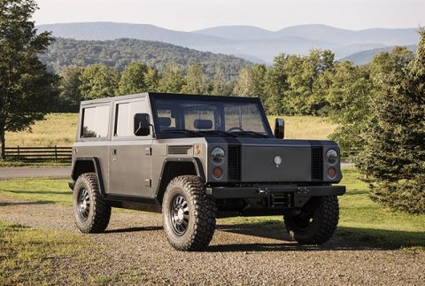 US: Bollinger presents latest versions of B1 electric utility truck and B2 e-pickup