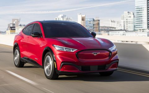 Ford produces more units of Mustang Mach-E EVs than gas-powered Mustang
