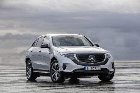 Mercedes-Benz's upcoming all-electric EQS won't have frunk: fresh images show