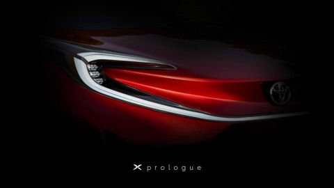 """Toyota releases teaser image of new electric vehicle called """"X Prologue"""""""
