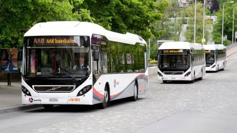 Zaragoza city puts 17 hybrid buses from Volvo into operation