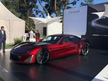 Drako's $1.2 million GTE electric supercar showcases stunning performance in the snow