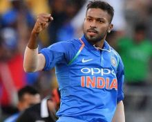 Hardik Pandya is back in action after recovering from back injury